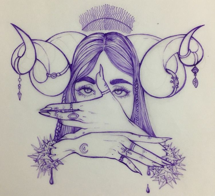 witch, art, wicca, good, love - deah_ahri | ello