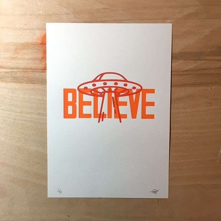 Limited edition screen print! c - dearpete | ello