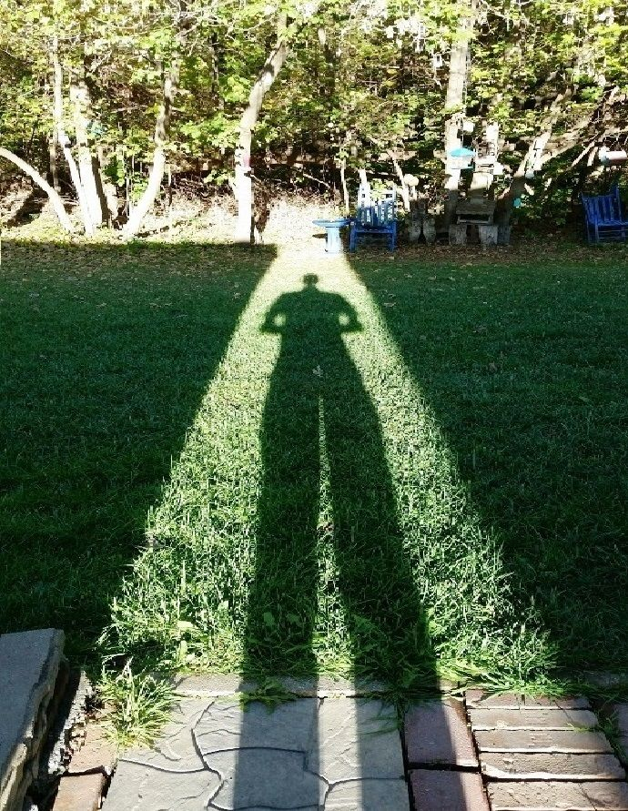 Longing - spring, shadow, sun, grass - rjayslais | ello