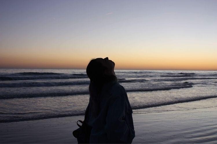 sea, sunset, memories - ganura | ello
