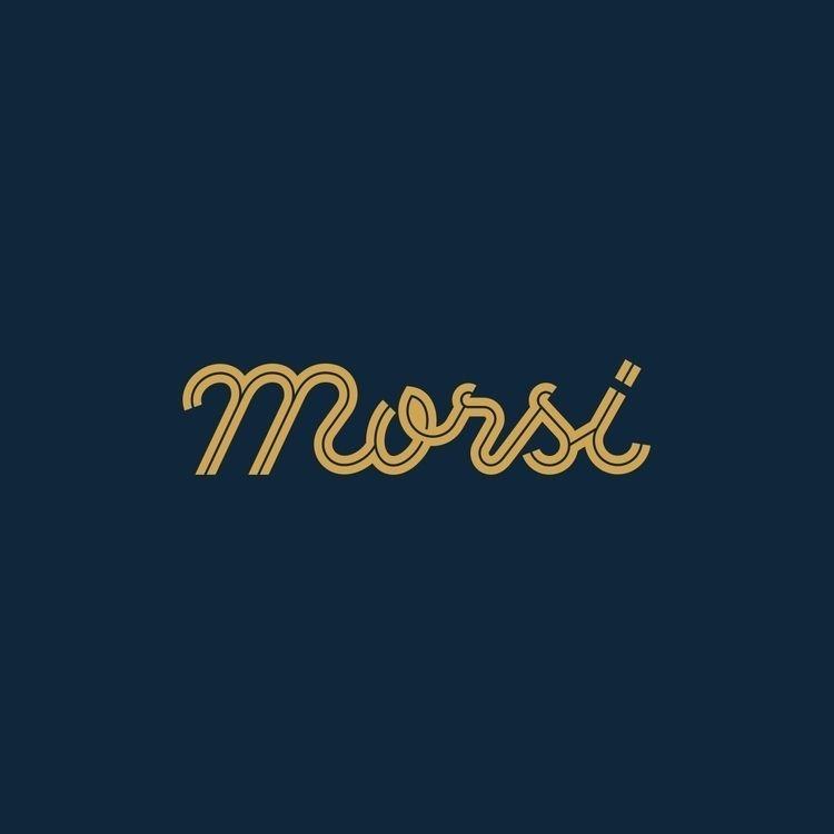 Morsi handmade lettering logo - illustration - satoboy | ello
