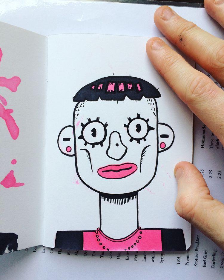 character - sketch, characterart - dyldo | ello