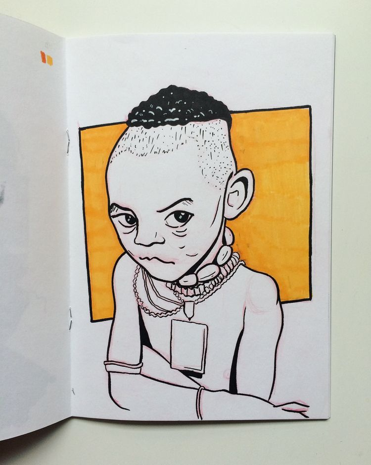 lil dude sketch - art, illustration - dyldo | ello