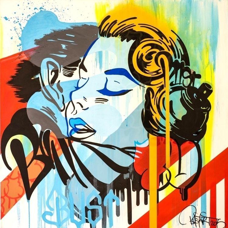 Graffiti Love Bust - artwxrk - artwxrk | ello