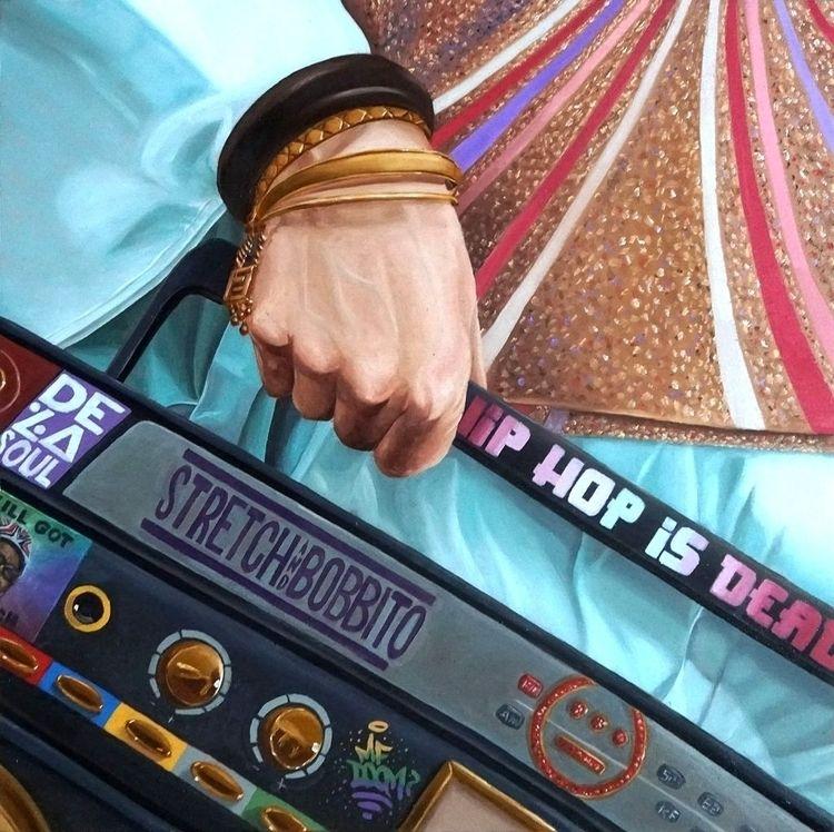 Hip Hop Dead Ken Flewellyn - artwxrk - artwxrk   ello