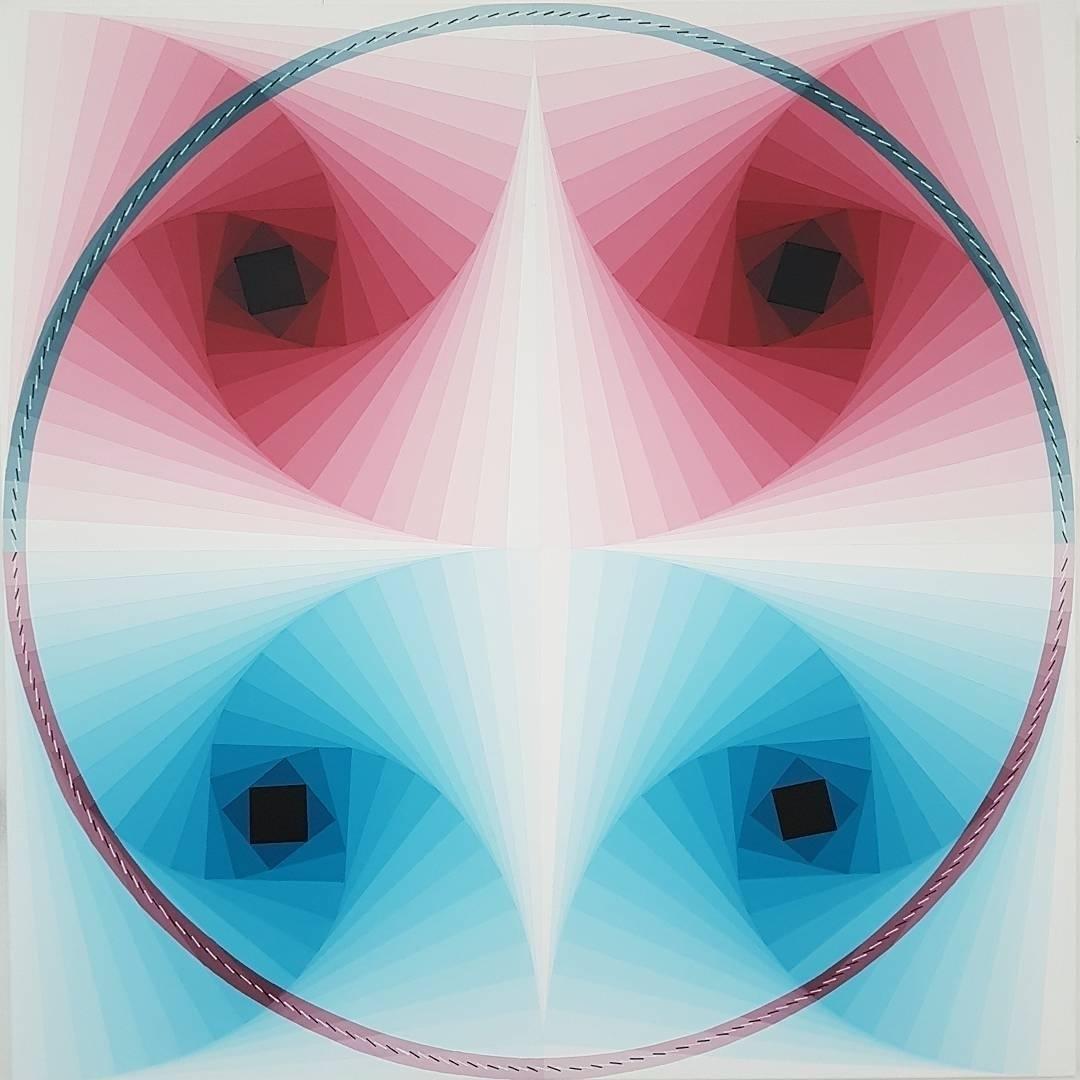 Synchronized Whirls Rebekka Bor - artwxrk   ello