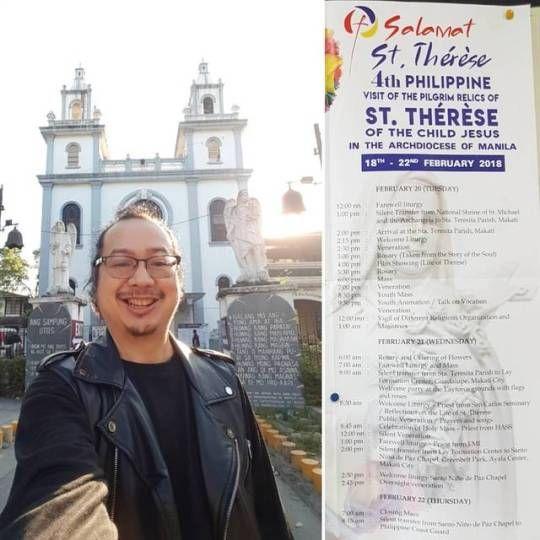 Visiting Pilgrim Relic Saint Th - vicsimon   ello