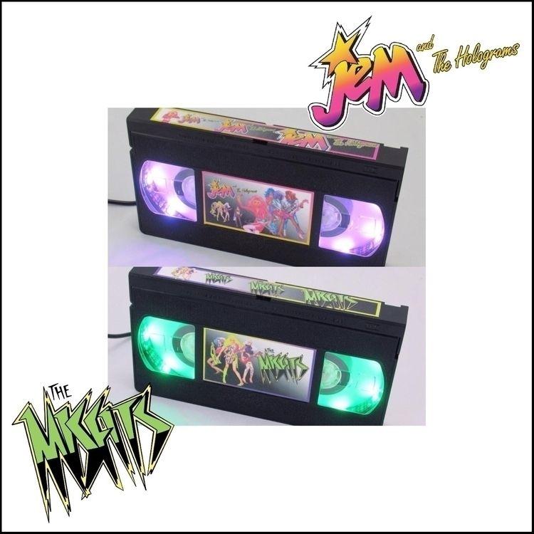 battle cartoon band VHS lamps.  - egvastbinder   ello