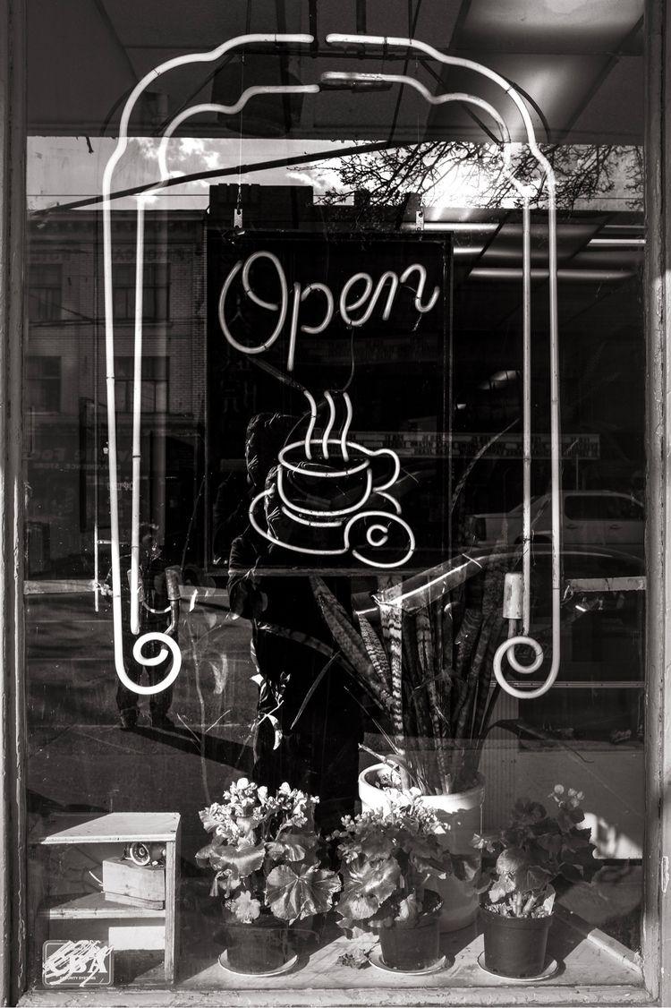 Open, Ovaltine Café, Vancouver - kch | ello