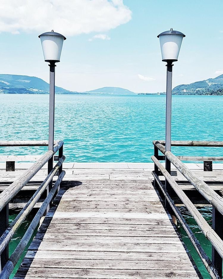 waiting - boat, Attersee, Austria - teufelchristoph | ello