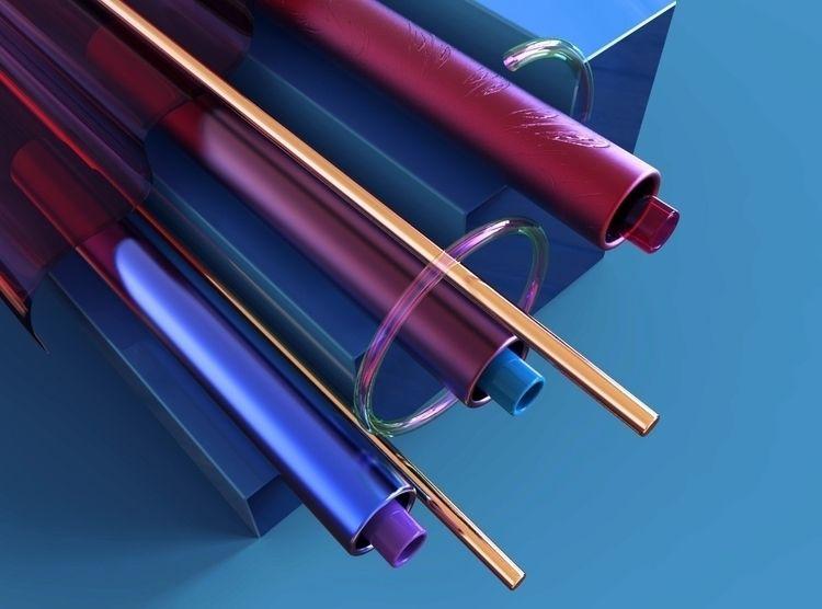 Shape, space form colors - spartos | ello