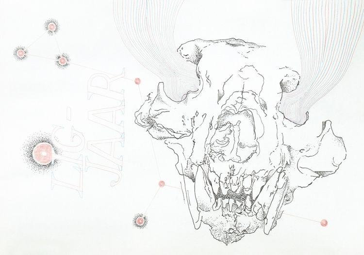 Unique edition drawing. Colored - phantomlimb | ello