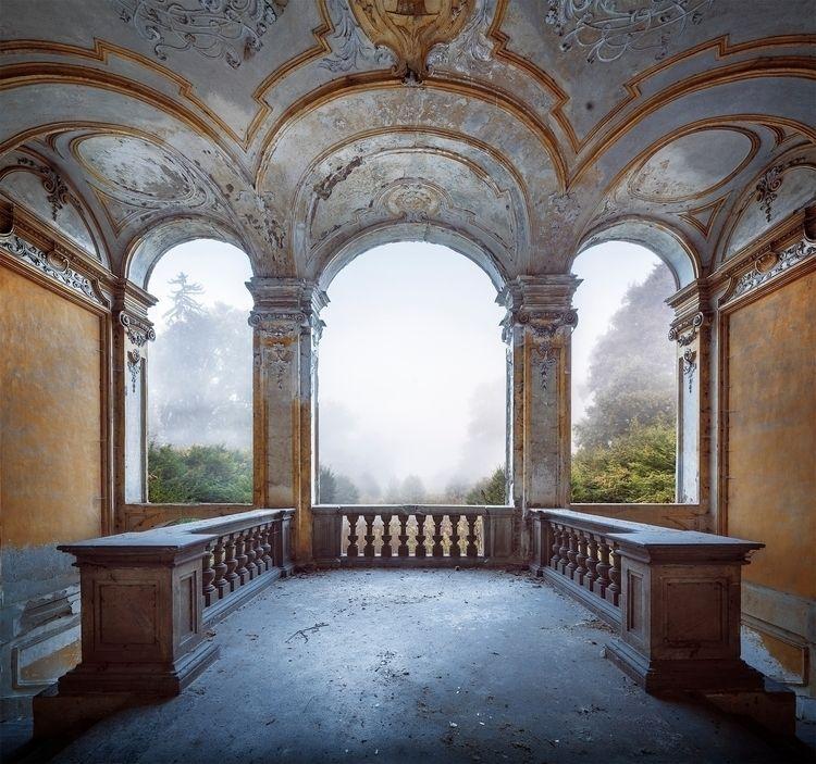 large abandoned stunningly beau - forgottenheritage | ello