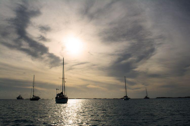 Turbulent skies smooth sailing  - dianasimply | ello