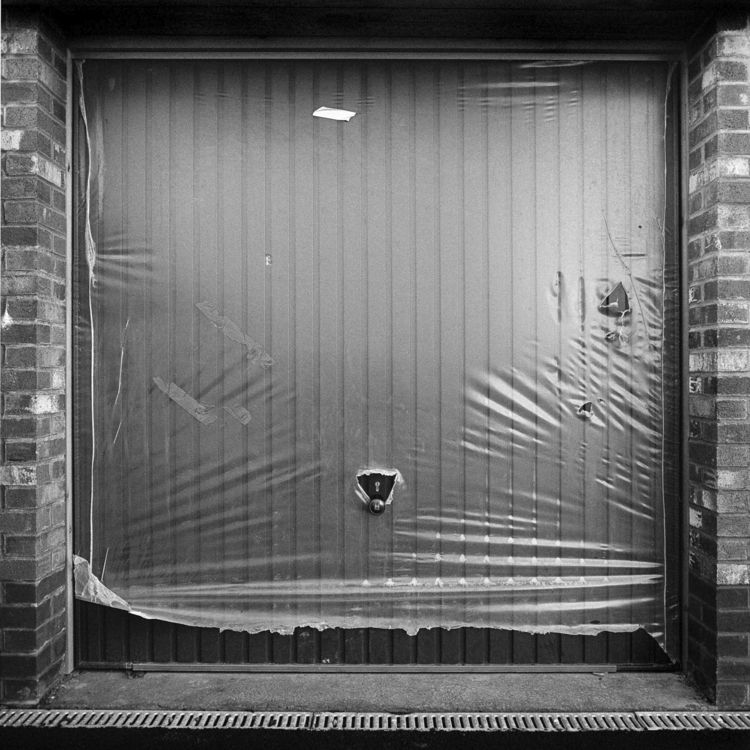 Garage door, Cardiff, Wales. Co - cdutton | ello