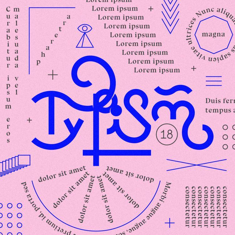 tiny celebratory piece / typogr - jessepyysalo | ello