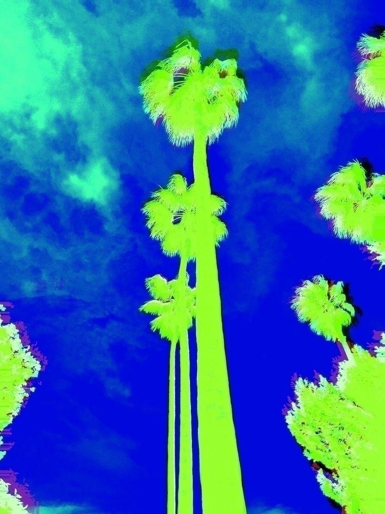 doyouhearit - art#barcelona#palmtrees#polarr#graphic - whosmartina | ello