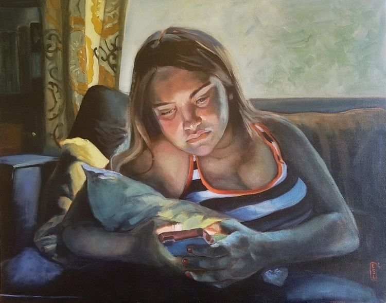 Cell Glow paintings children, e - ellenstarrlyon | ello