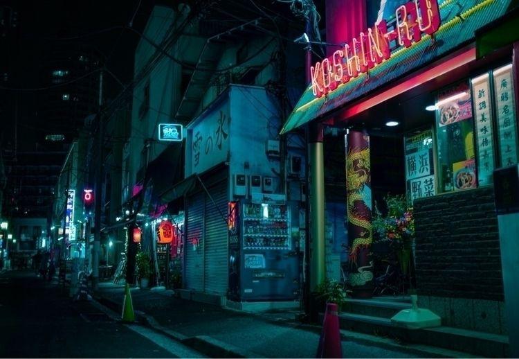 wander neon lit streets Chinato - agk42 | ello