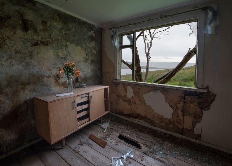 small lonely house edge windswe - forgottenheritage | ello