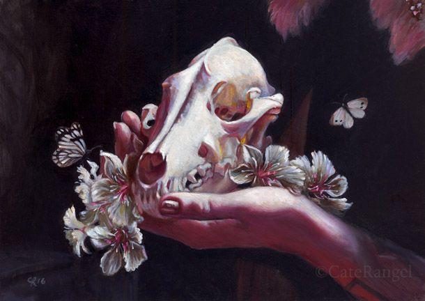 Skull Oleanders - Limited Editi - caterangel | ello
