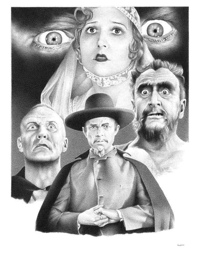 White Zombie Illustration inspi - renzorazzetto | ello