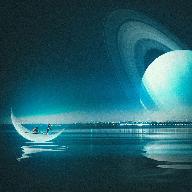 Arriving Saturn City - grigicaber | ello