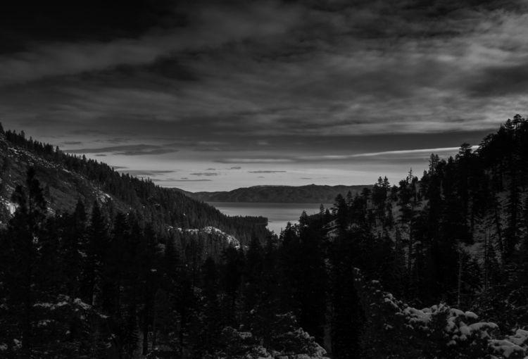 Lake Tahoe early winter - BlackAndWhite - aaronvizzini | ello