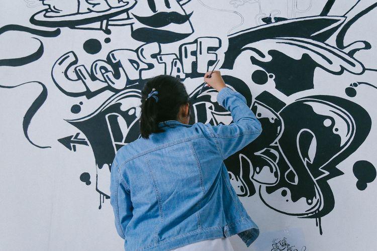 Cloudstaff Perks mural painting - elamae | ello