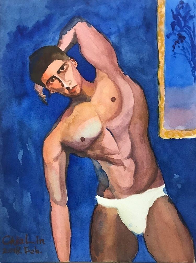 Male figure - portrait, male, malefigure - yangchialin   ello