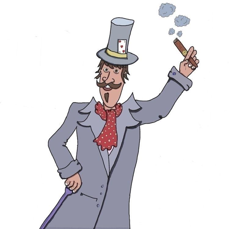 Gentleman - digital, cartoon, lowbrowart - magiccottagedrawings | ello