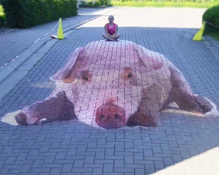 chalkartist, art, streetart, pavement - sonjamazereel | ello
