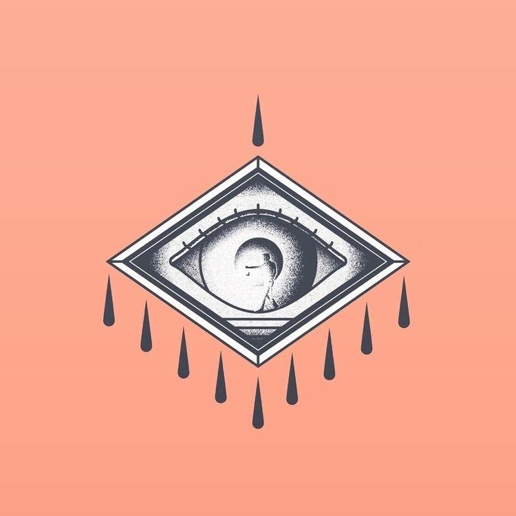 illustration, eye, design, badge - bradpurchase | ello
