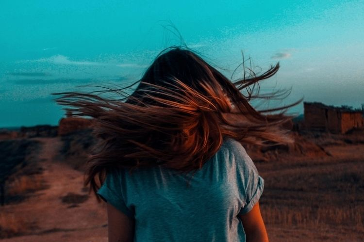 hair, air, village, nature, brown - almendramistica | ello