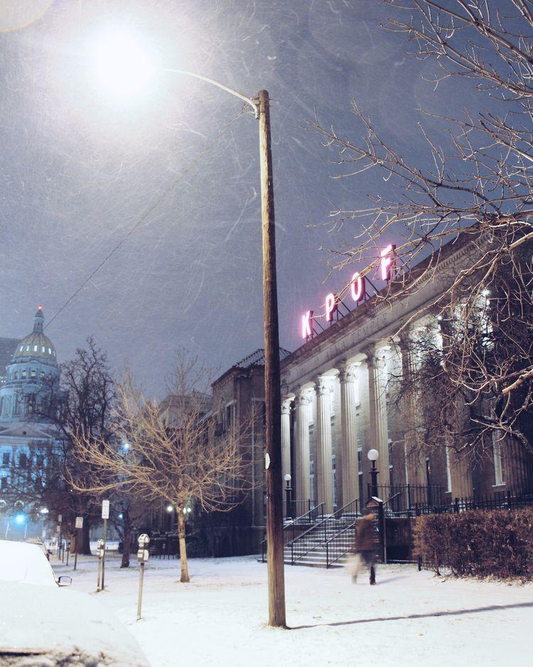 Snowy night CO - Denver,, Denver - tiffinycostello | ello
