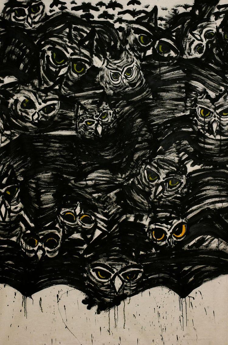 Acrylics canvas 150x200cm - donforty   ello