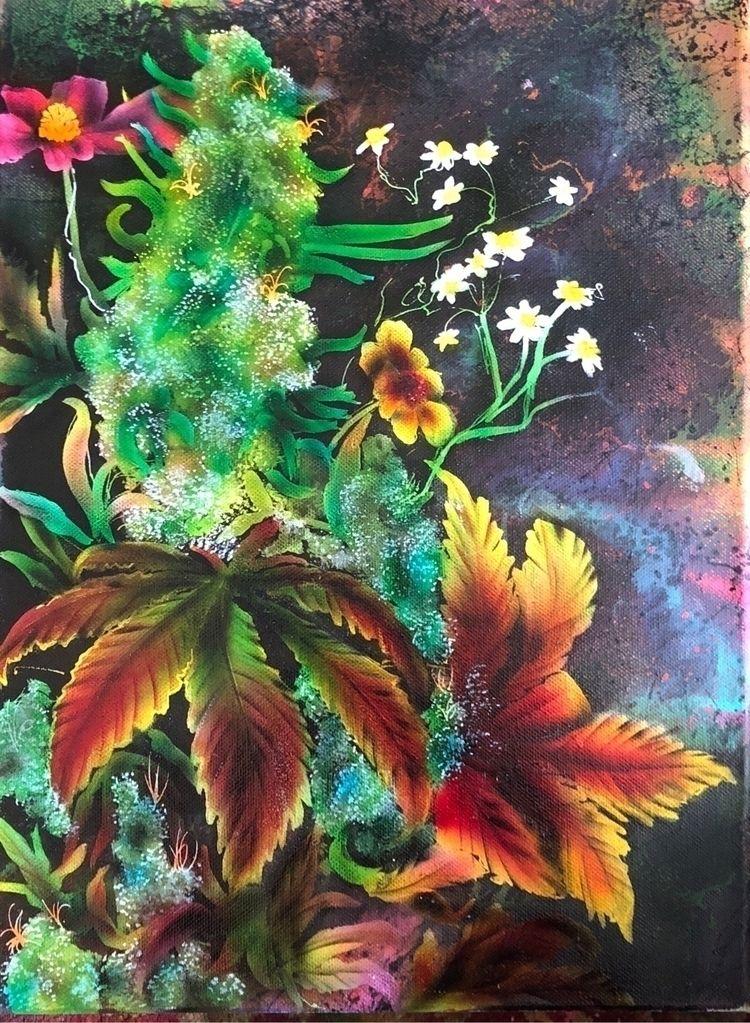 kunst, flower, pflanze, garden - volaneart | ello