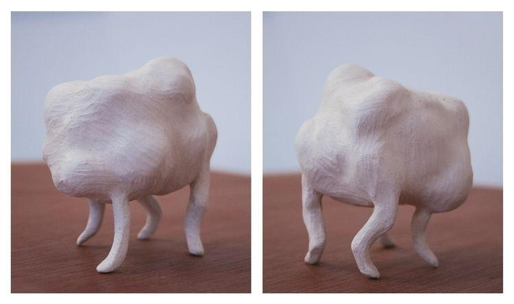 Créature ° 3 (2012). sculpture  - ameliebo | ello