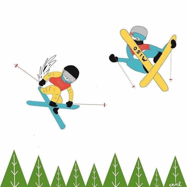 Cider Miso: Freestyle Skiing (P - emilynettie | ello