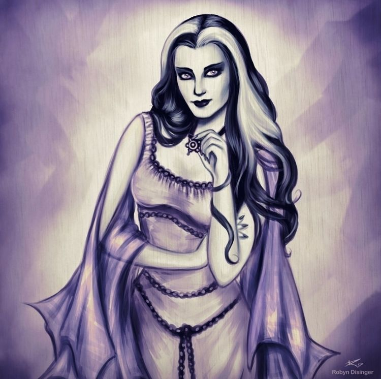 Lily Munster 🖤 - lilymunster, themunsters - jollymacabre | ello