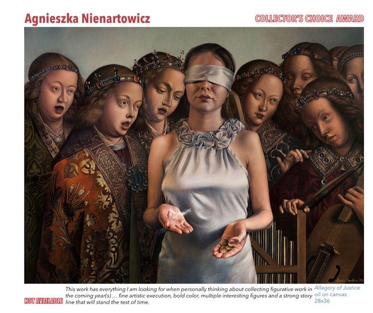 honoured happy painting 'Allego - agnieszkanienartowicz | ello