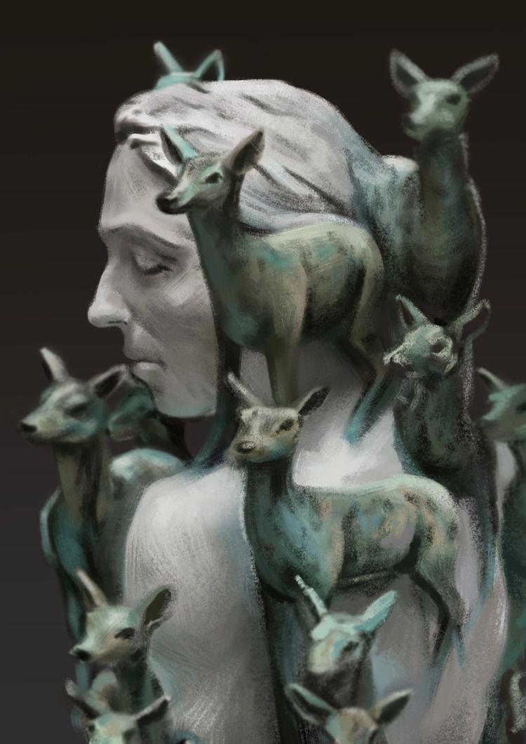 Sculpture Study | Ref: Heard Ad - melissalitian | ello