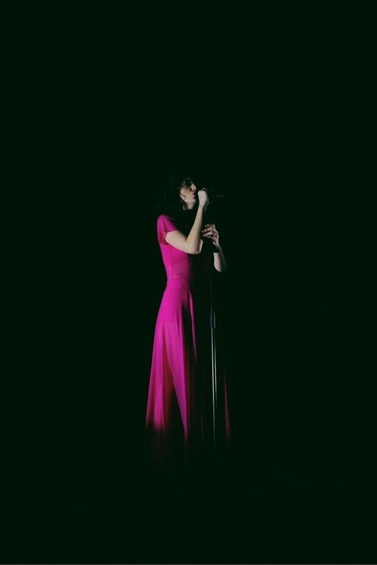 Lorde performing Powerstation,  - james_sier | ello