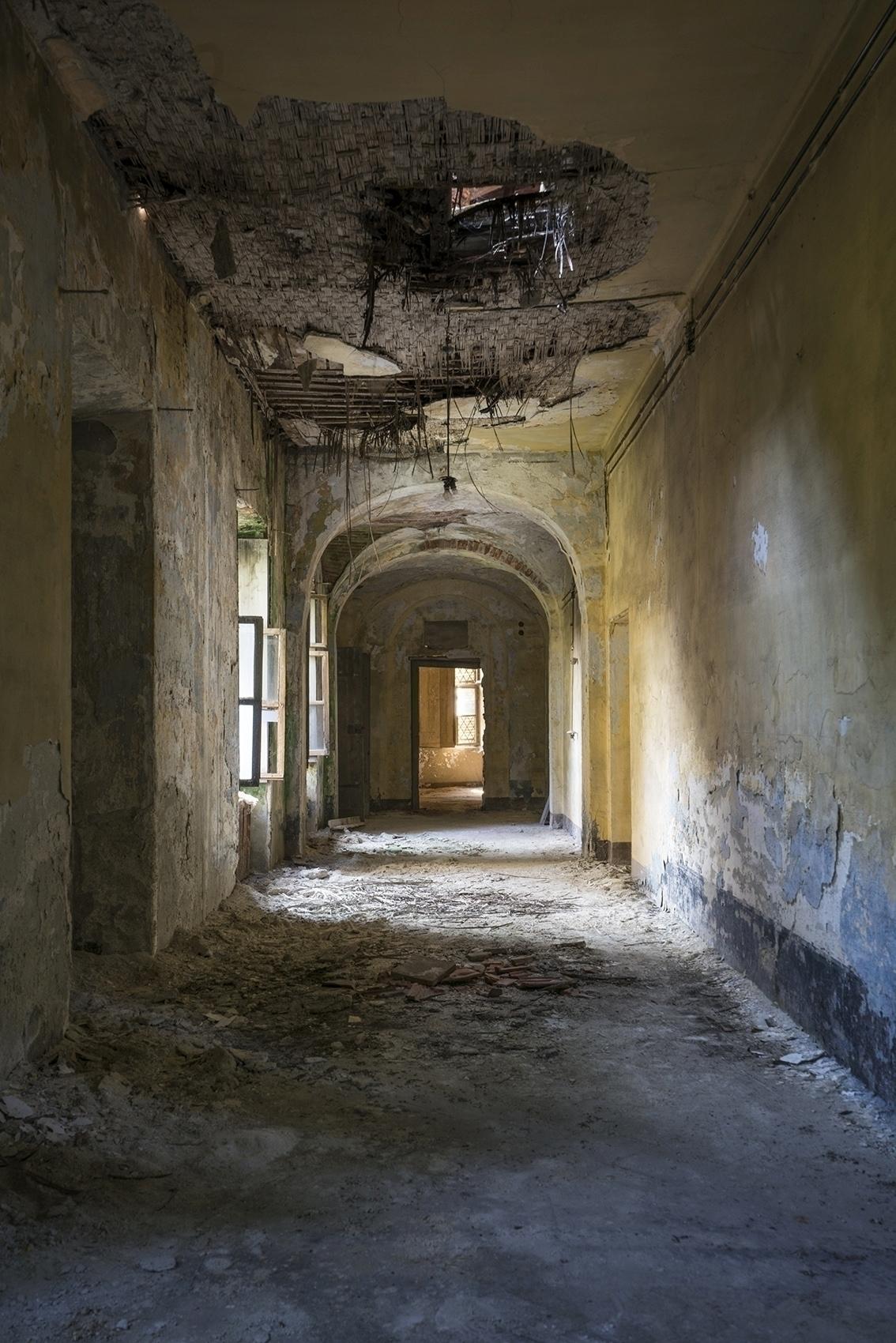 corridors long abandoned psychi - forgottenheritage | ello