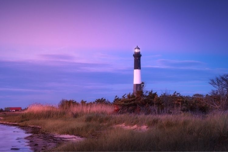 Fire Island lighthouse blue hou - mattrigolini | ello