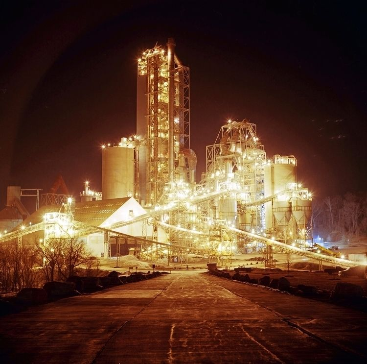 Cement Plant Yashica Kodak Ekta - danielregner | ello