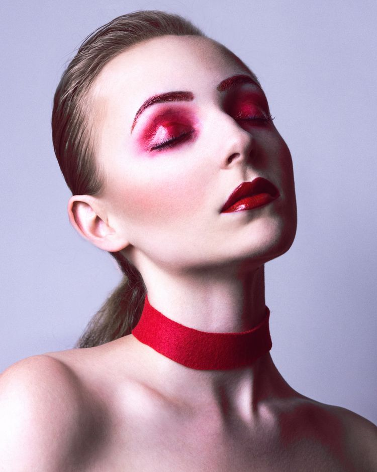 RED RGB - photography, makeup, avantgarde - kennynguyensc | ello