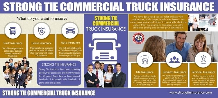 Strong Tie Commercial Insurance - strongtiecommercialtruckinginsurance | ello