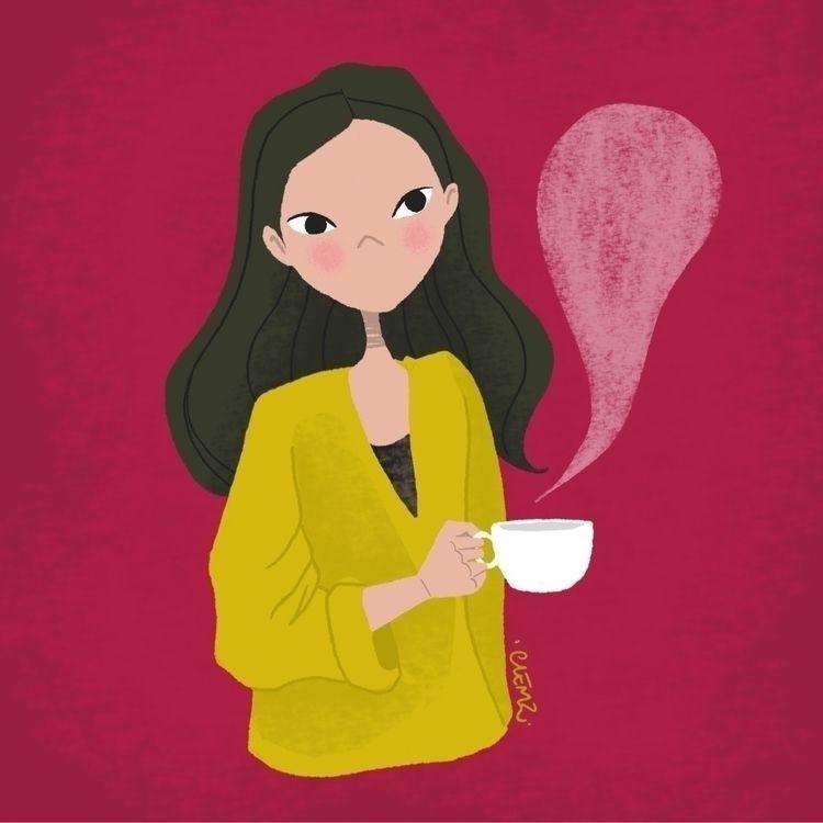 Bonjour bonjour avec bon café p - clemzillu | ello