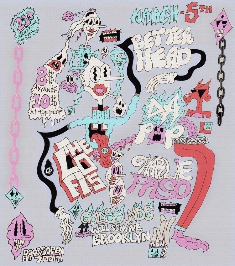 ghastlycastle, illustration, illustrator - ghastlycastle | ello